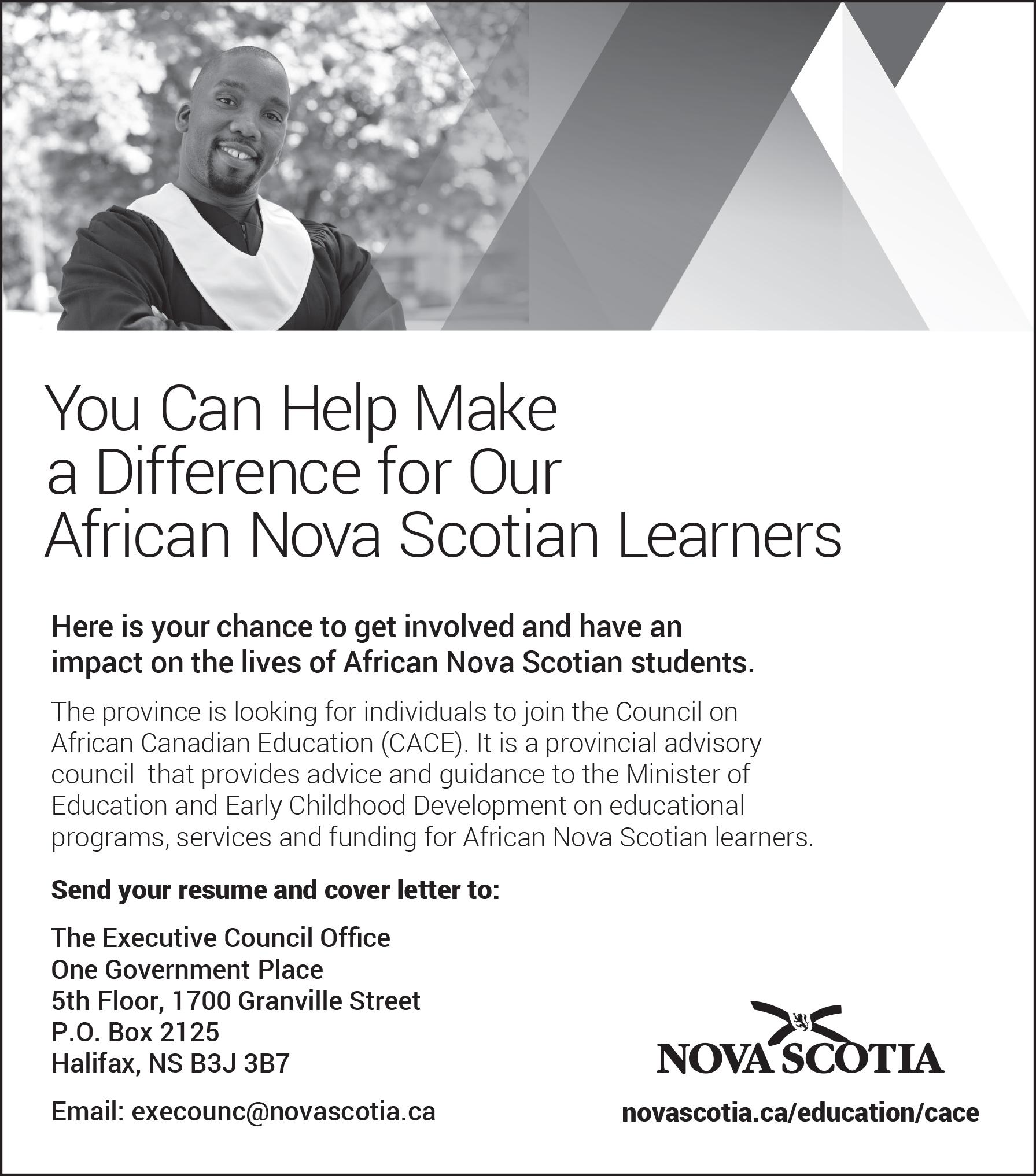 African Nova Scotian Learners